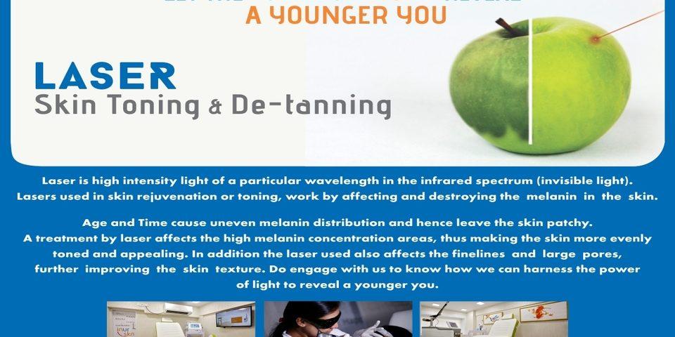 laser skin toning