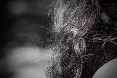 rough dry hair